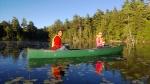 Two Suris in a canoe