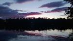 Sunset on Long Pond